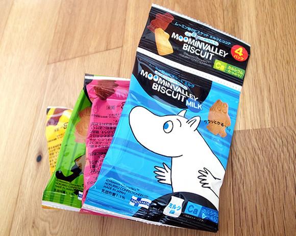 日本进口零食品 北陆hokka  4连包卡通饼干