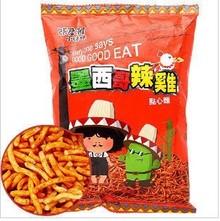 维力进口零食台湾张君雅小妹妹系列墨西哥辣鸡点心面净重78g克/包