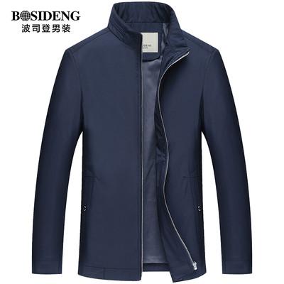 波司登男装商务休闲外套中老年男士夹克薄款春秋上衣爸爸装jacket