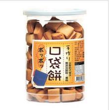 100%鲜奶十足营养台湾长松口袋饼干原味 200克满6罐江浙沪皖包邮
