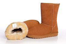 正品雪地靴 清仓 牛筋底 牛皮 防水 男 女 高筒 中筒 低筒短靴子