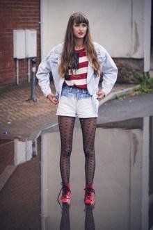 <p>这位21岁的英伦女孩michalina的日常着装搭配