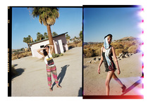 """<p>Urban Outfitters 2013 """"on the road"""" with our festival 搭配画册"""