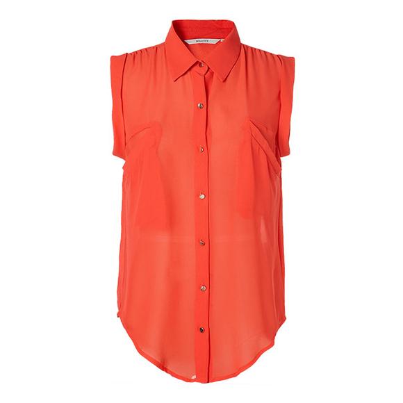 13夏新品ME&CITY女士短袖衬衫521669