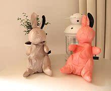 新款休闲女包特!超萌可爱小兔 高品质耐用油布折叠环保袋购物袋