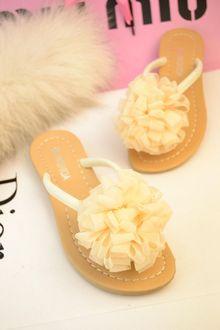 包邮2013夏季新款人字拖甜美大花朵平底凉拖夹脚拖鞋女凉鞋沙滩鞋