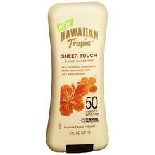 美国hawaiian tropic夏威夷透薄亮丽防晒乳霜 SPF50