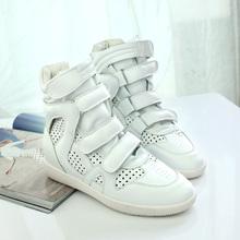 欧洲站2013 Isabel Marant高帮鞋 女 内增高休闲鞋