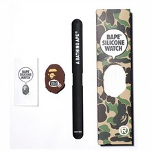 A Bathing Ape Bape 20周年 x 东Touch Silicone Watch 手表