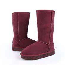 尚月儿雪地靴2013冬靴真皮牛皮5815高筒靴女靴子女鞋子牛筋底包邮