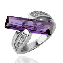 白金戒指 戒指 环保材料电镀K金镶钻 混批女