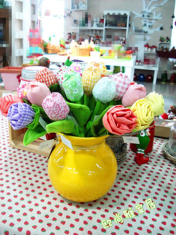 满百包邮外贸原单欧式简约现代家居大肚敞口陶瓷花瓶花缸花壶