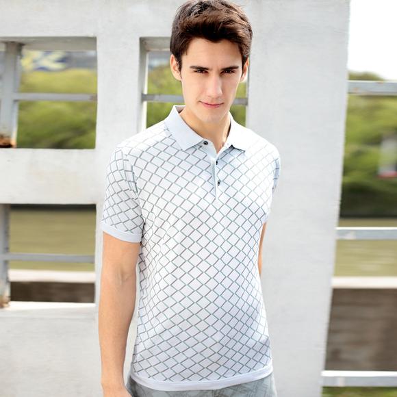 【满意淘】 BRRB男装 2013夏季新款短袖T恤男半袖T恤