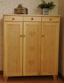 促销 出口日本实木家具鞋柜 多功能收纳柜 储物柜 数量有限