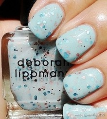 美国Deborah Lippmann 彩色亮片指甲油 Glitter in the air 现货