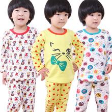 田果果 2013秋季童装新 小童保暖内衣套装 韩版儿童加绒保暖内衣