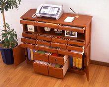 现代实木特价处理出口家具文件柜传真台多功能储物柜斗柜、