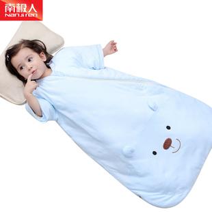 婴儿睡袋秋冬款新生儿宝宝小孩