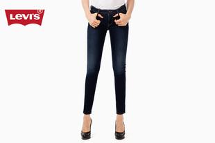 700系列女士711紧身靛蓝水洗牛仔裤19560-0000