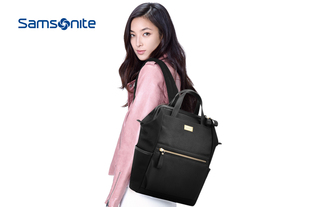 Samsonite/新秀丽时尚休闲双肩包大容量都市男女背包大中
