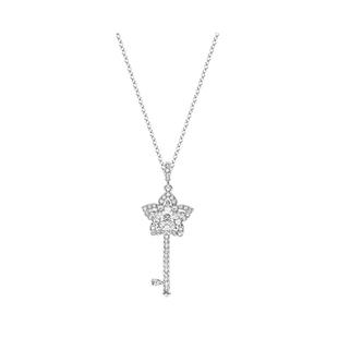Swarovski施华洛世奇Lady Key花朵钥匙女项链5365276