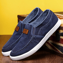 Men's shoes, breathable in spring, old Beijing cloth shoes, lazy skater