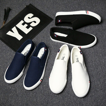 Men's casual shoes men's shoes slip on shoes lazy canvas shoes men's board shoes old Beijing cloth shoes